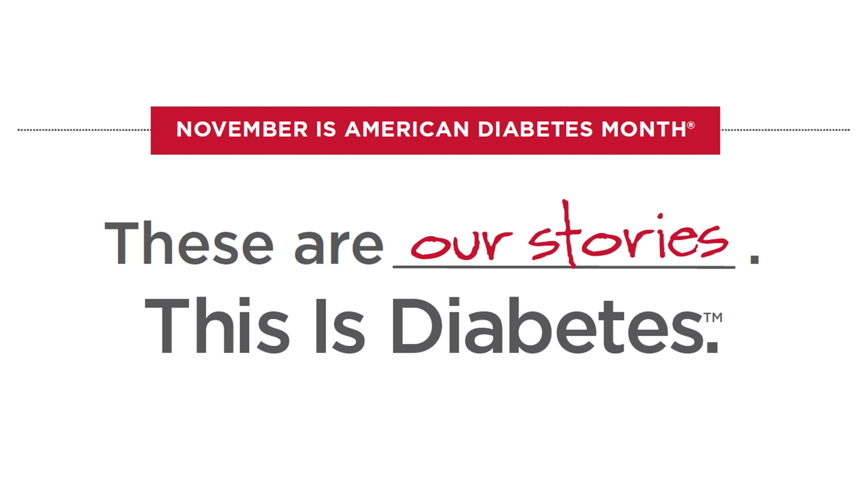 November is National Diabetes Month!