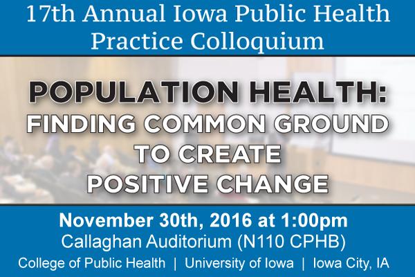 17th Annual Iowa Public Health Practice Colloquium