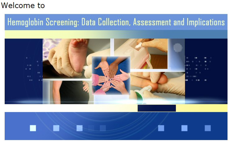 Hemoglobin Screening: Data Collection, Assessment and Implications Image
